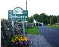 Belcarra is located 10 km  from Castlebar